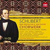 echange, troc  - Schubert : Oeuvres Chorales (11 CD)