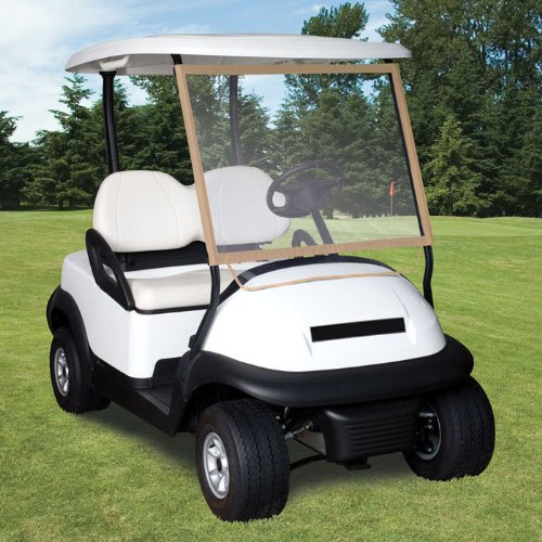 Classic Accessories Fairway Deluxe Portable Golf Car Windshield (Fits most golf cars with roofs)