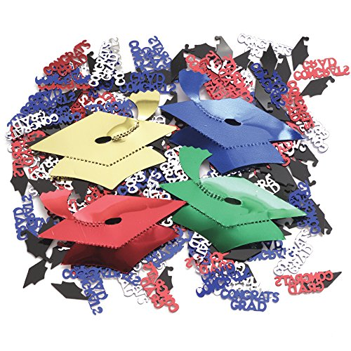 Creative Converting Graduation Caps Confetti Plus - 1