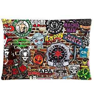 Amazon.com - Cool Wall Graffiti Anchor Rose Bull Skull Logos Custom