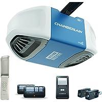 Chamberlain B550 Ultra Quiet 1/2-HP Belt Drive Garage Door Opener with Built-In WiFi