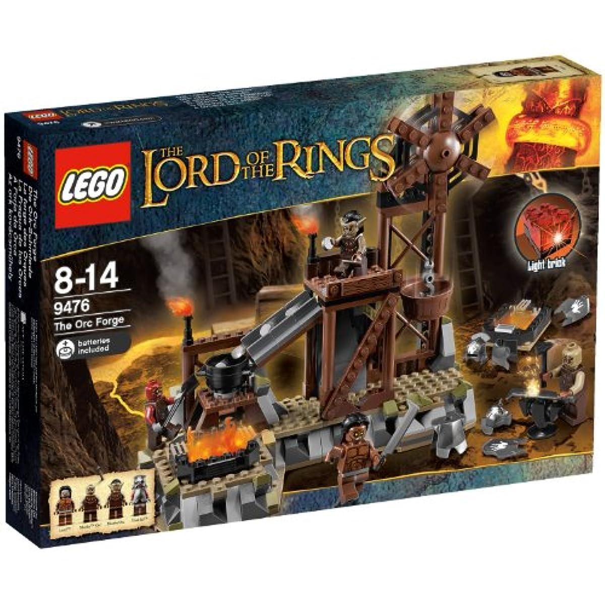 [해외] LEGO 9476 LORD OF THE RINGS THE ORC FORGE 레고 로드 오브 더 링 해외 한정-9476