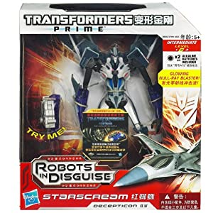 Transformers - 38693 - Figurine - Robots in Disguise - Starscream