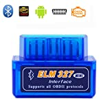 Car OBD OBD2 OBDII Scanner Mini Bluetooth Code Reader OBDATOR ELM327 Check Engine Light OBDii Car Diagnostic Scan Tool for Android PC