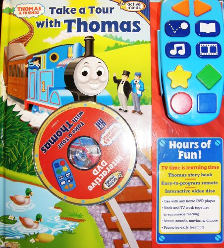 Take a Tour with Thomas the Train Includes Story Book, Interactive DVD and Remote