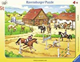 Ravensburger 06612 - Auf dem Reiterhof - 37 Teile Rahmenpuzzle