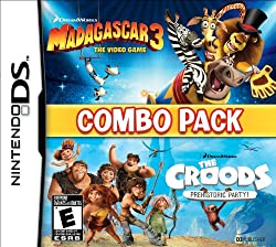 Madagascar 3 & The Croods: Prehistoric Party: Combo Pack - Nintendo DS