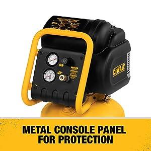 DEWALT D55168 225 PSI 15 Gallon 120-Volt Electric Wheeled Portable Workshop Compressor (Tamaño: 15 gallon)