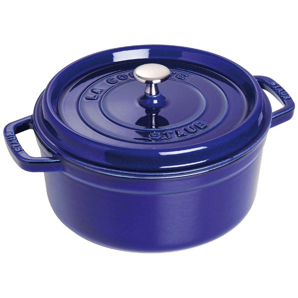 ZWILLING 双立人 旗下 法国Staub圆形法国炖锅 22厘米(蓝色)