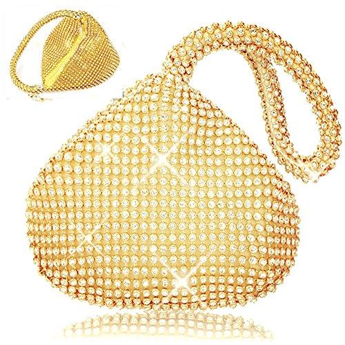 eleoption-women-ladies-evening-clutch-wedding-purse-handbag-for-party-prom-gold