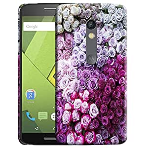 Theskinmantra Rose Bunch back cover for Moto X Play