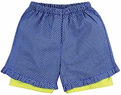 Oye Girls Frill Shorts - Blue (2-3 Y)