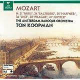 モーツァルト:交響曲第31、34、35、36、38、41番