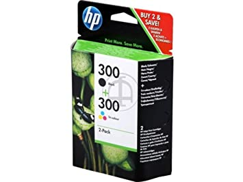 HP - Hewlett Packard Envy 114 e-All-in-One (300 / CN 637 EE) - original - 2 x consumer material (black, cyan, magenta, yellow) - 200 Pages