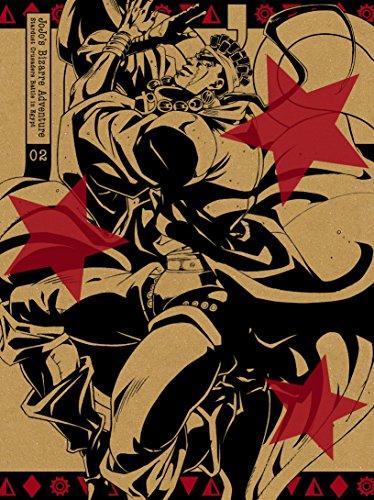 【Amazon.co.jp限定】ジョジョの奇妙な冒険スターダストクルセイダース エジプト編 Vol.2 (オリジナルデカ缶バッチ付)(紙製スリムジャケット仕様)(初回生産限定版) [DVD]