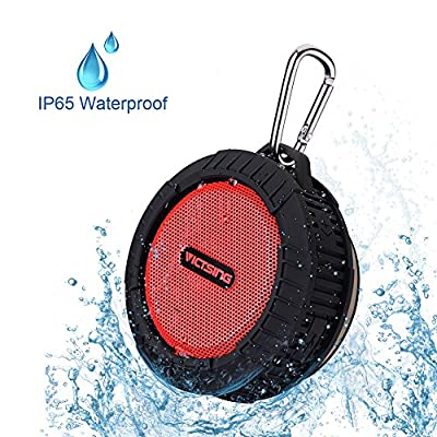VicTsing® Phoenix Portable Wireless Bluetooth 4.0 Waterproof Speaker w/ 10 Hours Playing Time, 5W Speaker for Outdoors/Shower