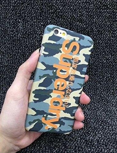 supredry 極度乾燥(しなさい)手触り良い  カップル 恋人 FASHION スマホカバー 超軽量 (iPhone6/6s, B)