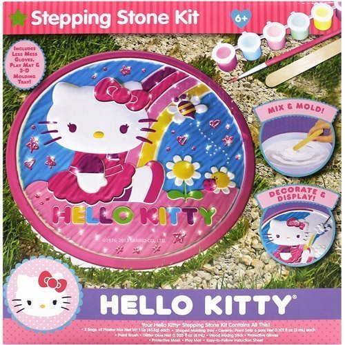 Hello Kitty Stepping Stone Kit - 1