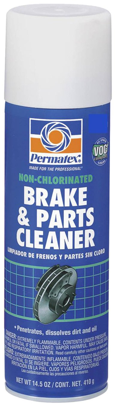 Brake cleaner is great for cleaning guns. Make sure to get the non-chlorinated kind.