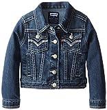 Levis Little Girls Tanya Thick Stitch Denim Jacket, Blue Wonder, 6