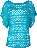 61JvGNivKdL. SL160  FULL TILT Open Weave Womens Top