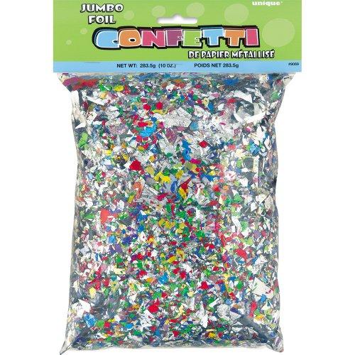 Foil Confetti, Assorted 10oz
