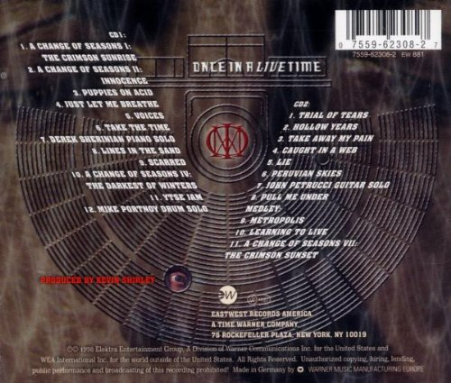 Original album cover of Once in a Livetime by DREAM THEATER