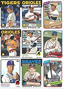 2014 Topps Archives MLB Baseball Series Complete Mint Basic 200 Card Set Loaded with... by Baseball Card Set