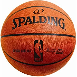 Buy Spalding NBA Official Game Ball Basketball by Spalding