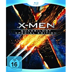 X-Men - Quadrilogy (Special Edition) [Blu-ray]