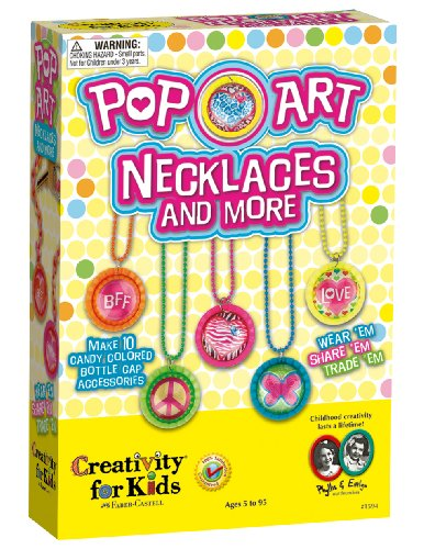 Creativity For Kids Pop-Art Necklaces And More front-785073