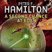 A Second Chance at Eden | Livre audio Auteur(s) : Peter F. Hamilton Narrateur(s) : Steven Crossley