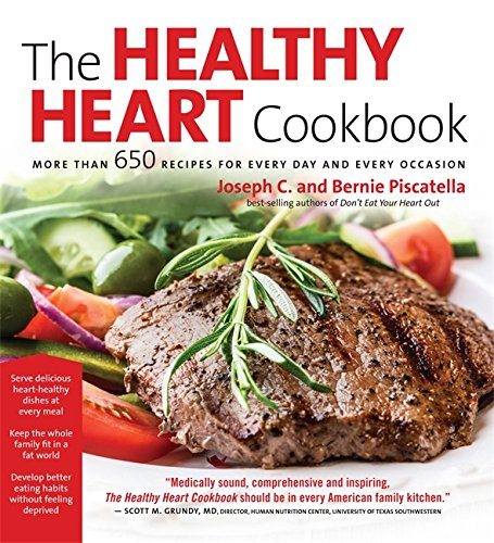 Healthy Heart Cookbook: Over 650 Recipes for Every Day and Every Occassion (Heart Healthy Cooking compare prices)