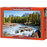 Castorland Athabasca River Jasper National Park Canada Jigsaw (1500-Piece)