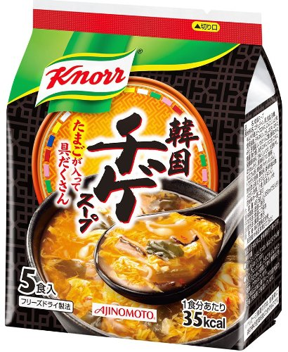 味の素 クノール韓国チゲスープ 5食入袋