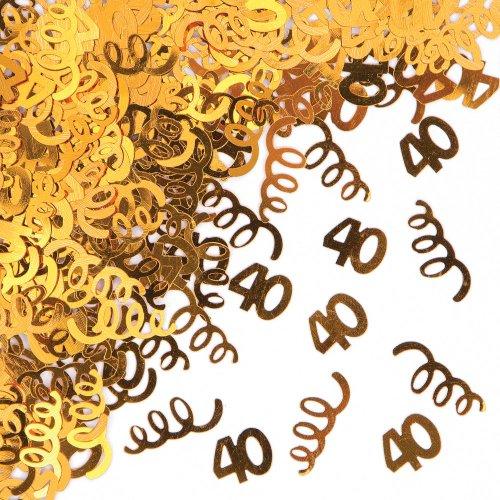 40th Birthday Foil Confetti