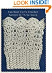 Tan Boot Cuffs Crochet Pattern in Thr...