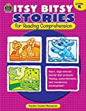 img - for Itsy Bitsy Stories for Reading Comprehension Grd K book / textbook / text book