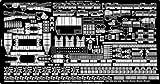 1/350 米海軍カサブランカ級護衛空母用エッチング(船体)