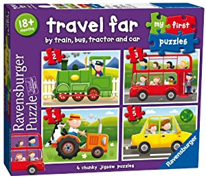 Ravensburger My First Puzzles Travel Far