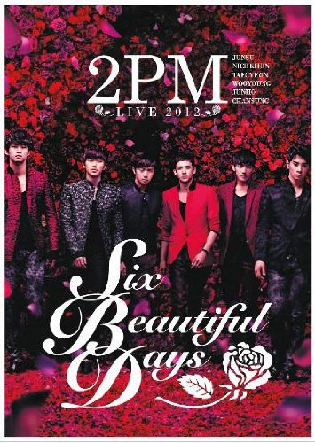2PM - SIX BEAUTIFUL DAYS concert in Japan 2012 (Korean Music DVD)
