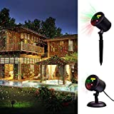 Laser Christmas Light, Decolighting Star Laser Light Show Landscape Lighting Outdoor Waterproof