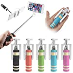 GadgetGuru Mini Pocket Selfie stick for android and iphone assorted Color