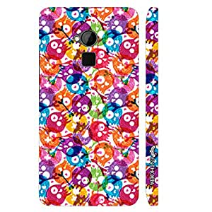 HTC ONE MAX Skully Holi designer mobile hard shell case by Enthopia
