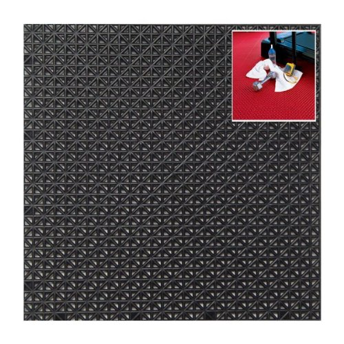 Set of 40 Drain Style Tiles (Black) (0.5
