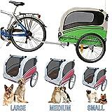 POLIRONESHOP SNOOPY rimorchio per trasporto cani cane animali carrello carrellino trasportino rimorchi da bici...
