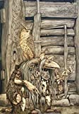 """BRIAN FROUD Limited Edition Print """"TROLL WITCH"""" SIGNED"""