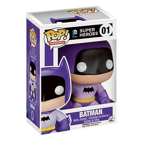 Batman 75eme Anniversaire Violet Arc-en-ciel Batman Pop Vinyle Figurine - Divertissement Terre Exclusif