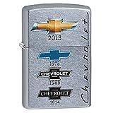 Zippo Chevrolet Logos Pocket Lighter, Street Chrome