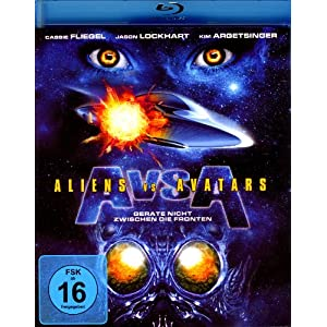 Aliens Vs.Avatars [Blu-ray] [Import allemand]